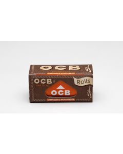 "OCB ""Virgin"" Unbleached Slim Rolls (4 Meter)"