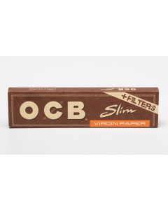 "OCB ""Virgin"" Unbleached Slim + Filters"