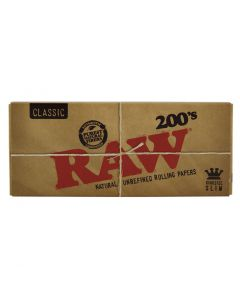 Raw Creaseless 200's Kingsize Slim