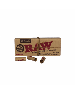 RAW Connoisseur 1 1/4  With Prerolled Tips