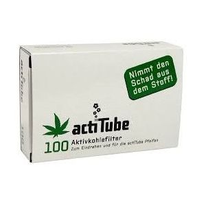 actiTube charcoal filters - 100