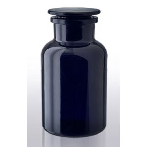 Violet Glass Apothecary Herb Jar 2L