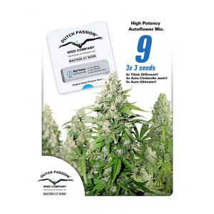 High Potency Autoflower Mix (Dutch Passion®)