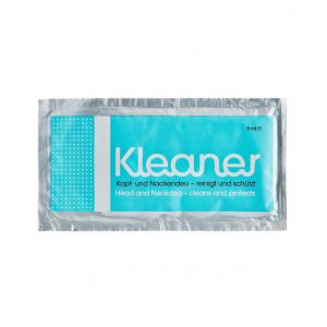 Kleaner Wipe head and neck single use packet