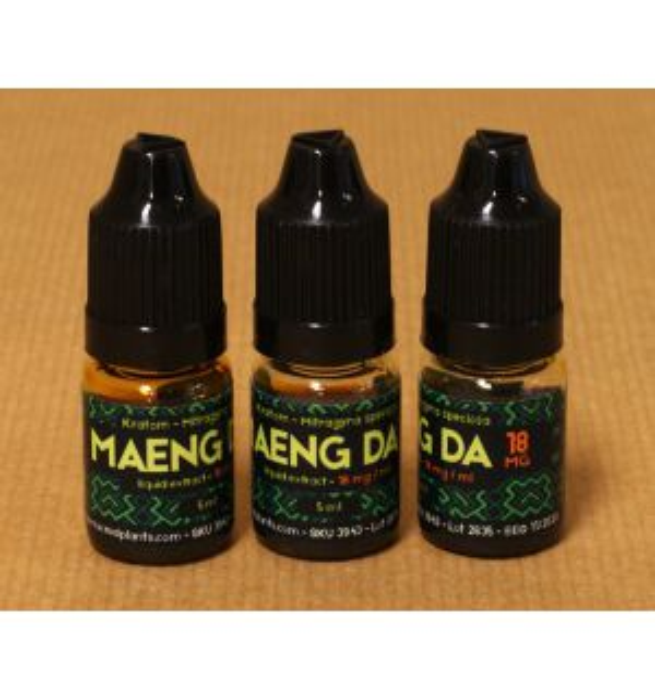 Kratom Maeng Da liquid extract 18mg/ml