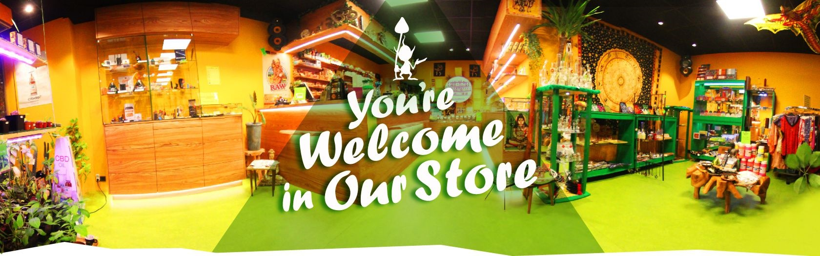 You're Welcome in our Store